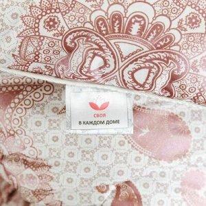 Одеяло 1,5 спальное 140х210см, наполнитель: термофайбер, пло