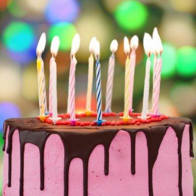 PARTY-BOOM — все для твоего праздника и куража! Шары — Свечи для торта