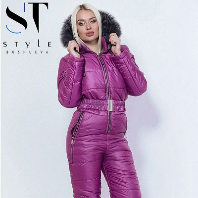 《SТ-Style》Стильная женская одежда! Новинки — Костюмы и комбинезоны зимние