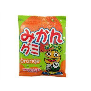 Мармелад жевательный Мандарин  25 гр (Япония)