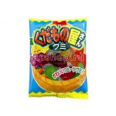 Мармелад жевательный  фруктовое ассорти 21 гр (Япония)