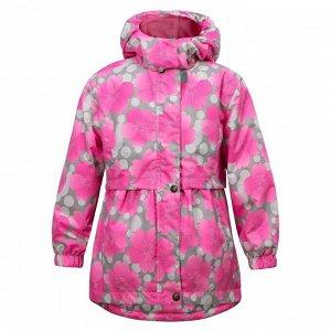 Куртка для девочки Vanessa, розовая (весна-осень)