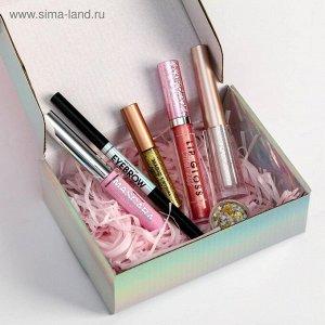 """Бьюти-бокс """"Pink mood"""" (6 beauty-штучек для невероятного макияжа)"""
