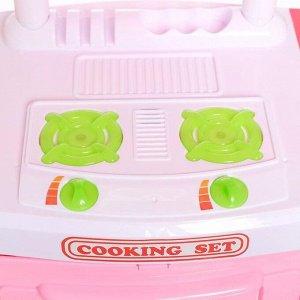 Игровой набор «Маленький поварёнок», с аксессуарами, свет, звук