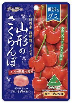 Мармелад жевательный Senjaku вишня из Ямагата  34 гр. 1/6/72  /Япония/