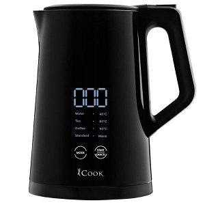 ICook™ Электрический чайник с цифровым сенсорным контролемтемпературы