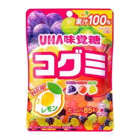 """Мармелад жевательный """"UHA"""" фруктовое ассорти из 100% сока 85 гр. 1/10/80  /Япония/"""