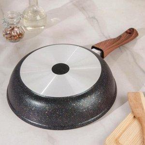 Сковорода Granit ultra, d=26 cм со съемной ручкой, антипригарное покрытие