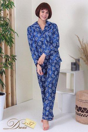Пижама «Грезы» синяя