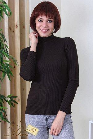 Водолазка женская «Марина» коричневая