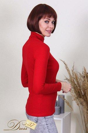 Водолазка женская «Марина» красная