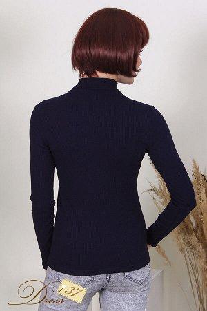 Водолазка женская «Марина» синяя