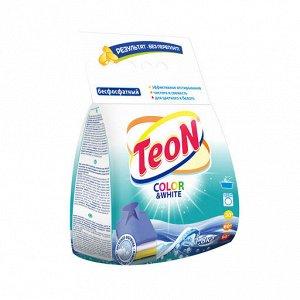 Стиральный порошок TEON Универсал, для цветного и белого, 1,8кг П/э,