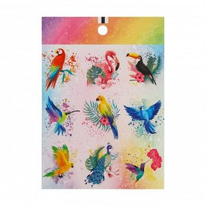 Набор наклеек бумажных «Мир полон чудес», 11? 15,5 см, 10 листов