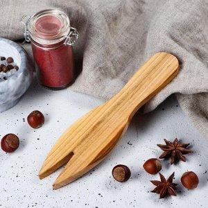 """Лопатка для салата деревянная """"Люкс"""", 20х5 см, массив черешни"""