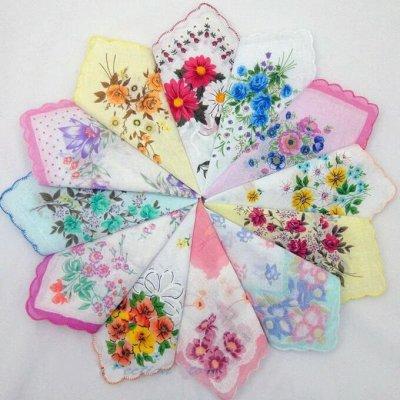 💥Весна!Нижнее белье!Платья!Все скидки в одной закупке!🔥😍  — Носовые платочки  от 15 рублей — Носовые платки