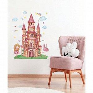 Наклейка виниловая «Замок». интерьерная. 50 х 70 см