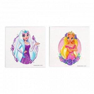 Татуировки-переводки детские «Принцессы» набор 2 шт.