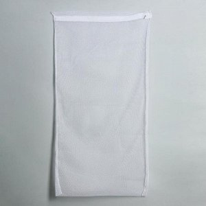 Мешок для стирки белья «Макси», 47?90 см, цвет белый