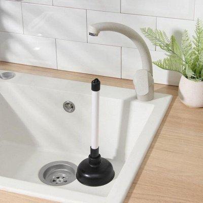 Красивая и удобная ванная: Мебель, смесители, аксессуары — Вантузы