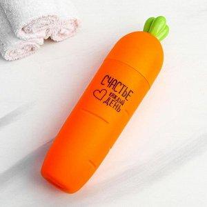 Футляр для зубной щетки «Счастье каждый день», 22.5 х 5,5 см