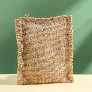 Мочалка льняная «С мумие», с органическим мылом