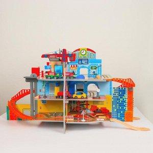 Детский игровой набор «Маленький городок» 71*55*14 см