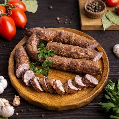 Мясная Долина — домашние натур. мясные колбасы, деликатесы — Колбасы