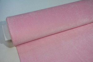Плюш розовый гладкий 0,5*1,8м