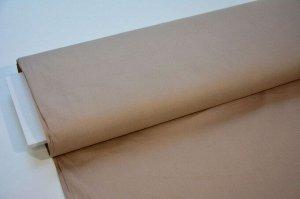 Ткань Перкаль - Кофейный (г/крашеный) 0,5*1,5м