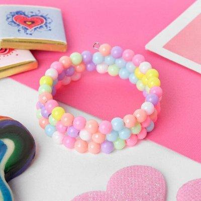 Бижутерия, косметички, значки, фурнитура — Бижутерия. Детская бижутерия. Детские браслеты — Бижутерия