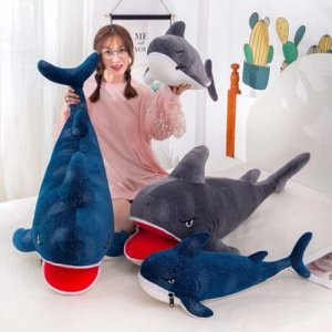 """Мягкая игрушка """"Акула"""". Рот на замке"""