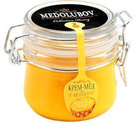 Крем-мед 250 мл (бугель) с ананасом