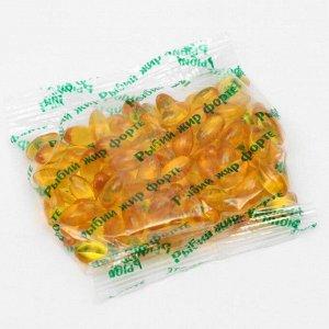 Рыбий жир форте, 100 капсул по 350 мг.