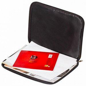 """Папка на молнии с ручками BRAUBERG, А4, ткань, с подкладкой, сублимация, для мальчиков, """"Хейтер"""", 227091"""