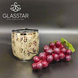 Набор стаканов Glasstar Золотой Альянс / 6 шт. 310 мл
