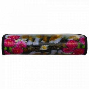 "Пенал-косметичка BRAUBERG, с эффектом 3D, пластик, ""Осень"", 22х10х5 см, 227311"