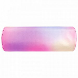 "Пенал-тубус BRAUBERG, с эффектом Soft Touch, мягкий, ""Rainbow Cloud"", 22х8 см, 229013"