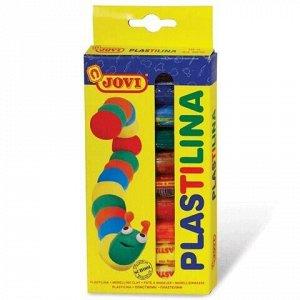 Пластилин на растительной основе JOVI (Испания), 10 цветов, 150 г, 90/10
