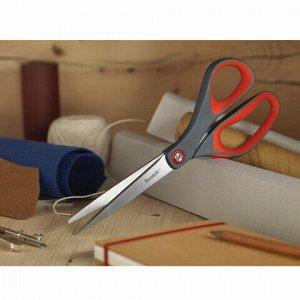 """Ножницы SCOTCH """"Precision"""", 200 мм, для точной резки, резиновые вставки, серо/красные, европодвес, 1448"""