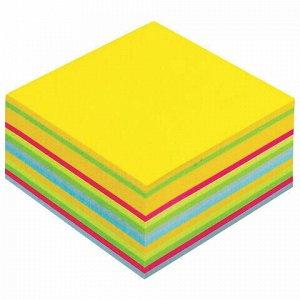 """Блок самоклеящийся (стикер) POST-IT ORIGINAL """"Ультра"""" 76х76 мм, 450 л., ассорти, 2030-U"""