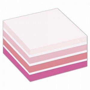 """Блок самоклеящийся (стикер) POST-IT ORIGINAL """"Розовая Пастель"""" 76х76 мм, 450 л., ассорти, 2028-P"""