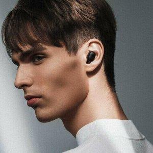 Наушники с микрофоном (гарнитура) XIAOMI Mi True Wireless Earbuds Basic 2, беспроводные, ВТ, 10 м, до 4 часов работы, черные, BHR4272GL