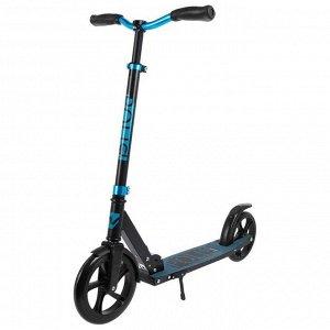 Самокат детский NOVATRACK POLIS PRO, колёса PU 230 * 200 мм, цвет синий