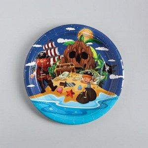 Тарелка бумажная «Пираты», набор 10 шт.