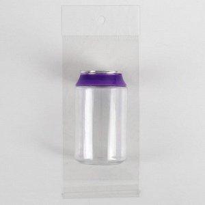 Баночка для хранения «Газировка», 85 мл, цвет голубой