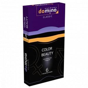 6 цветных презервативов (фиолетовый, черный, золотой)