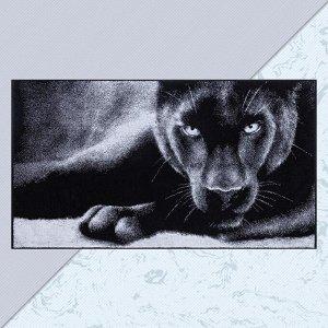 """Полотенце махровое Этель """"Пантера"""" 70х130 см, 100% хл, 420 гр/м2"""