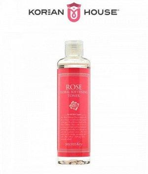 Secret Key, Rose Floral Softening Toner, 248ml / Тонер с экстрактом розы