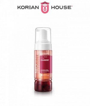 Neogen, DermalogyReal Fresh Foam Cleanser Cranberry, 160g / Омолаживающая пенка с клюквой